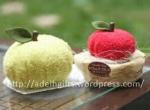 Souvenir handuk bentuk Apel
