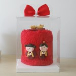 Towel Cake Wedding Favor