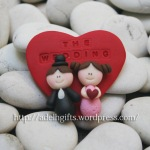 Magnet Clay Wedding Favor