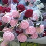Rose Towel Wedding Favor