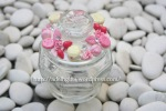 Candy Jar with Clay Decorative