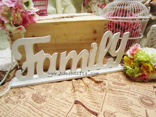 Family Wood Letter