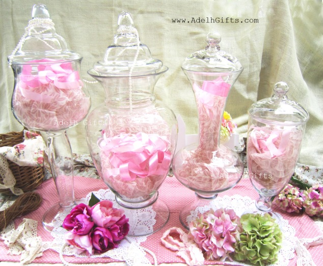 glass jar or apothecary jar collections 2