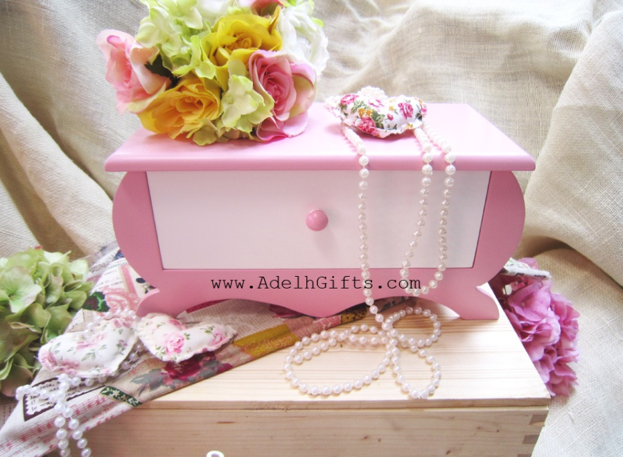 mini drawer pink