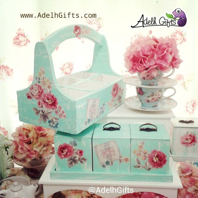 decoupage decou on box