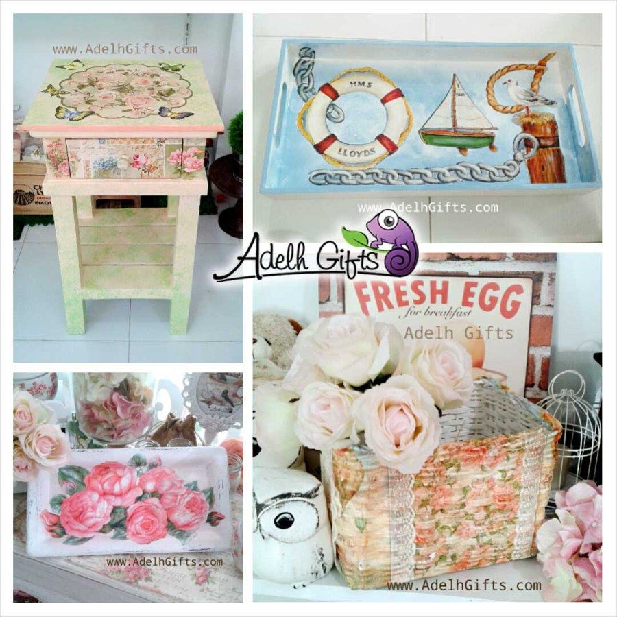 decoupage indonesia adelh gifts