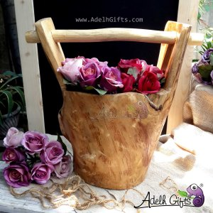 teakwood bucket