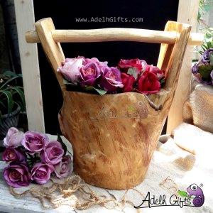 teakwood bucket