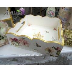 tray joy ivory gold