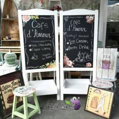 Blackboard for Cafe Menu