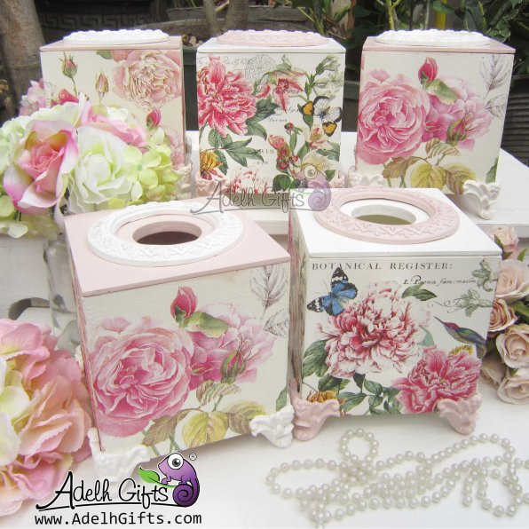 michel works tissue box banyak