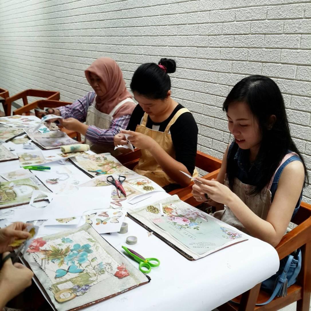 adelh gifts decoupage workshop