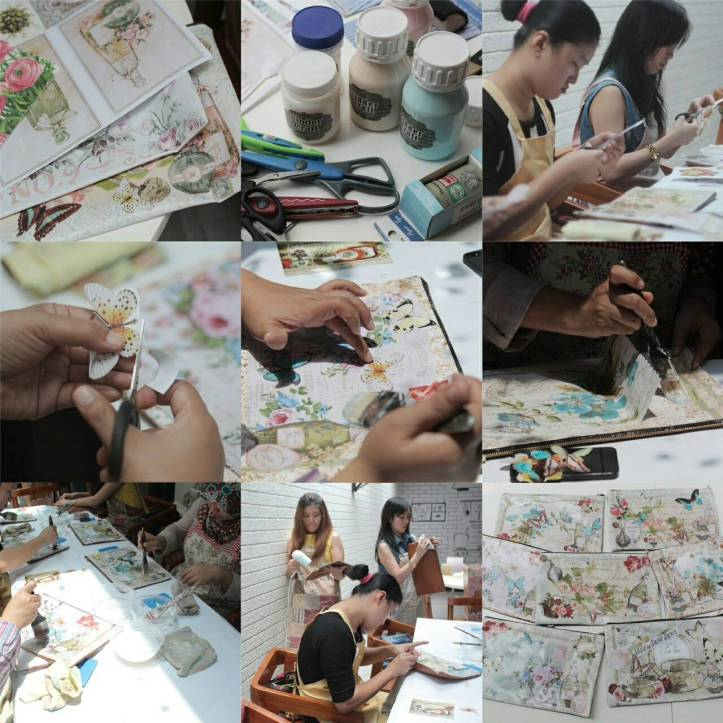 decoupage workshop adelh gifts