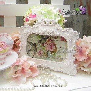 frame rose landscape