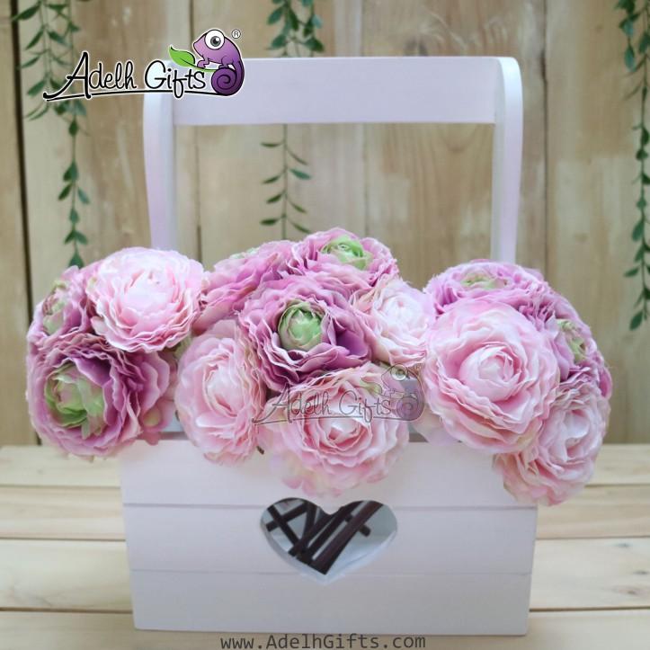 flower hanger white