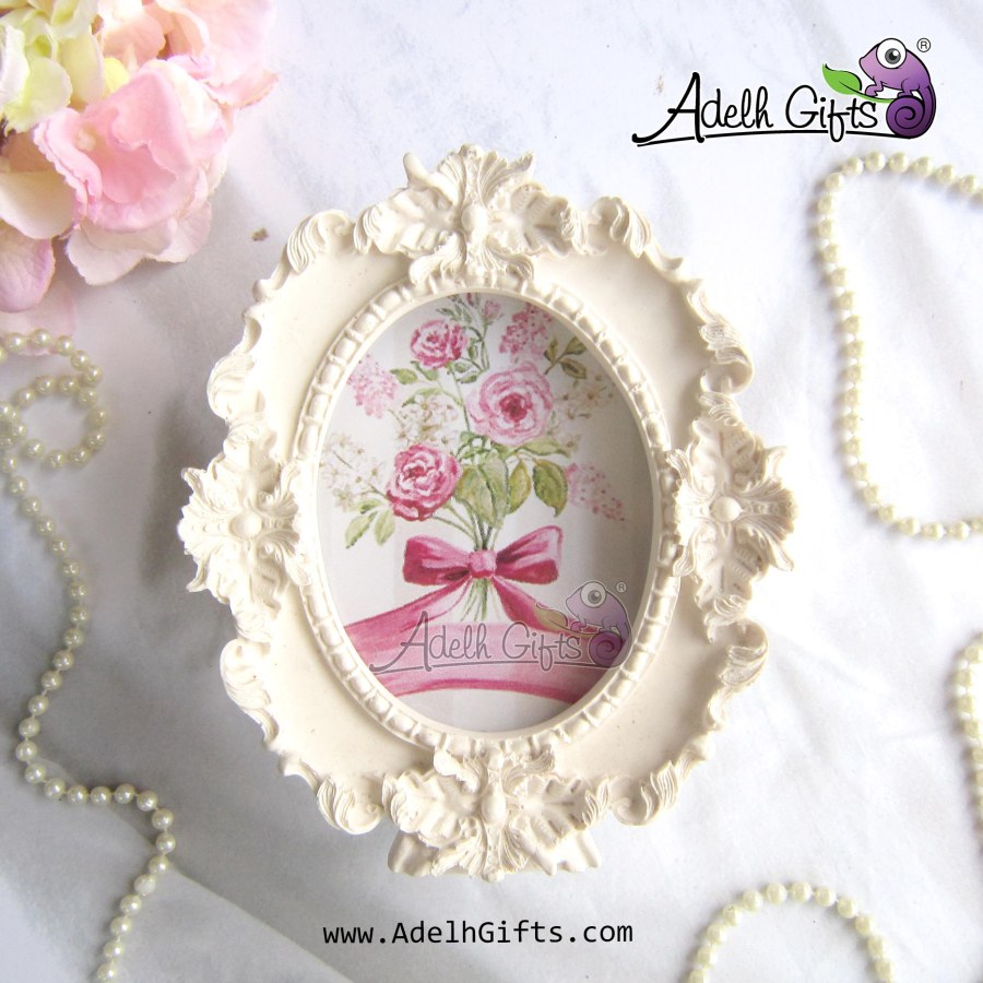 frame resin oval a04