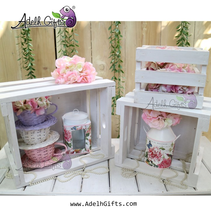 white crate set new