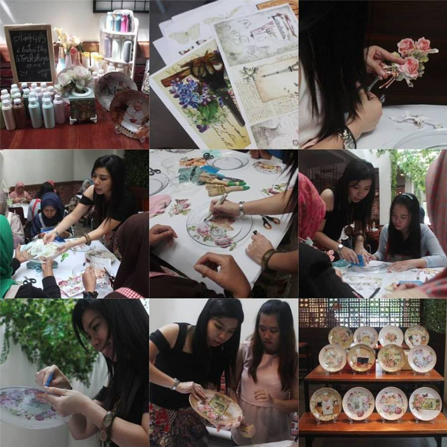 decoupage-workshop-surabaya