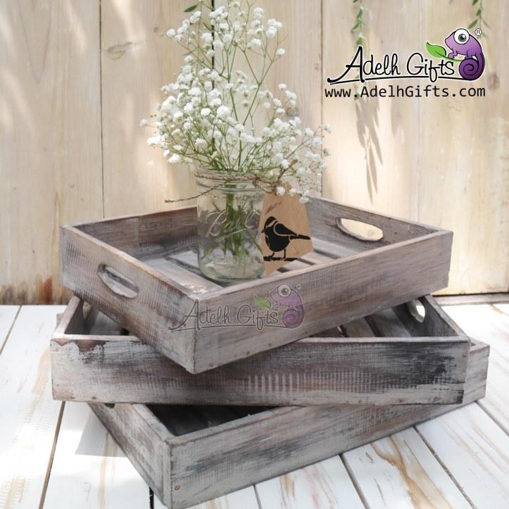 rustic-tray-set