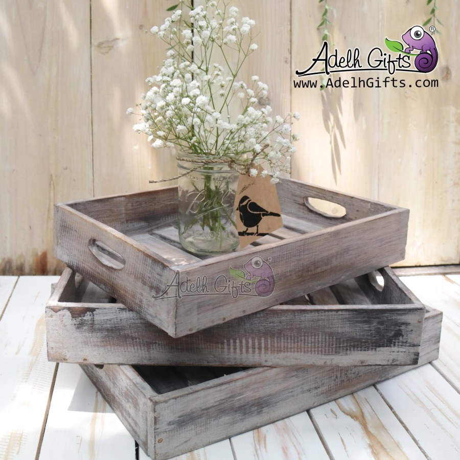rustic-tray-set