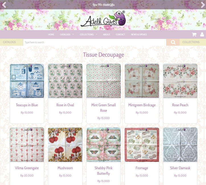 tissue-decoupage-page