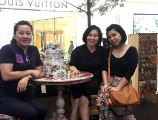 with ann lee and