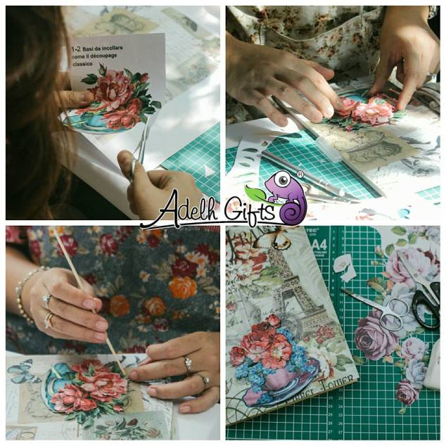 3d decoupage workshop surabaya