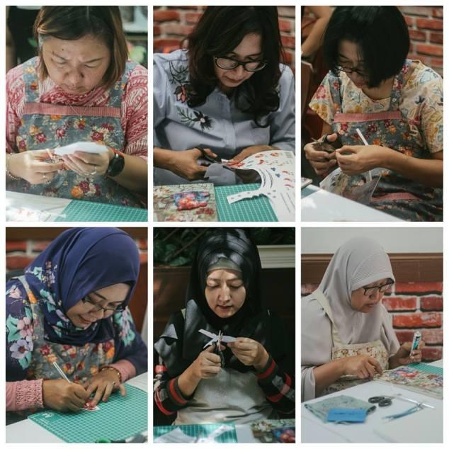 para peserta workshop 3D adelh gifts
