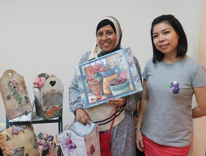 murid workshop decoupage