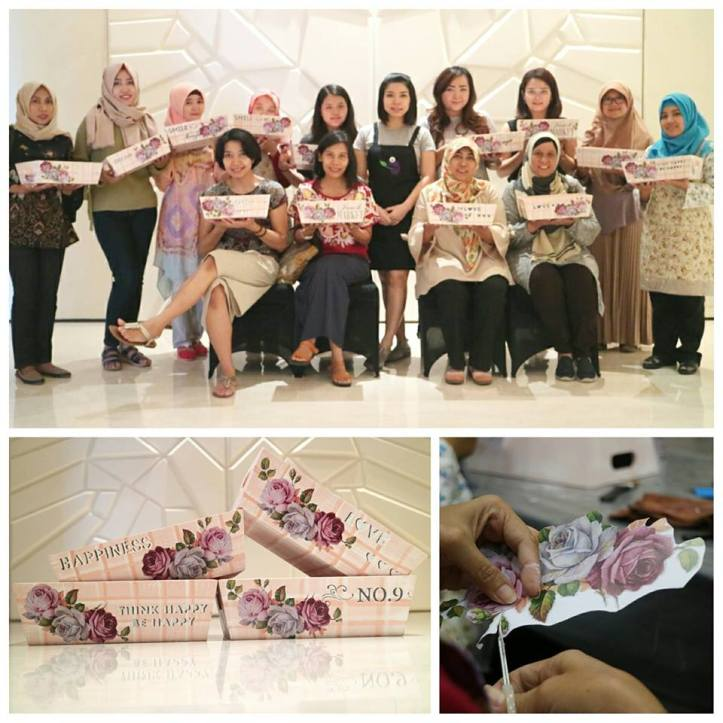 workshop decoupage 15 juli sesi 1