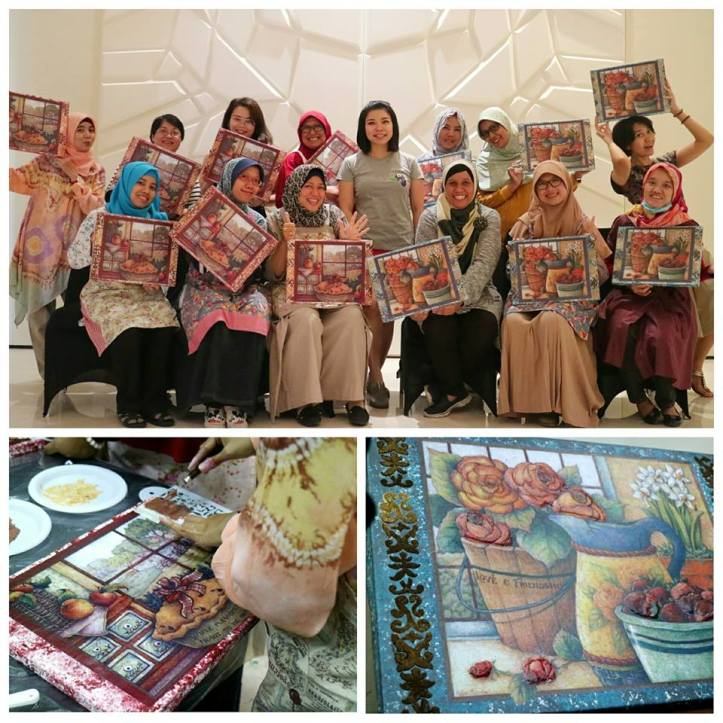 workshop decoupage 15 juli sesi 2