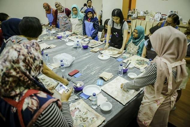 workshop decoupage surabaya