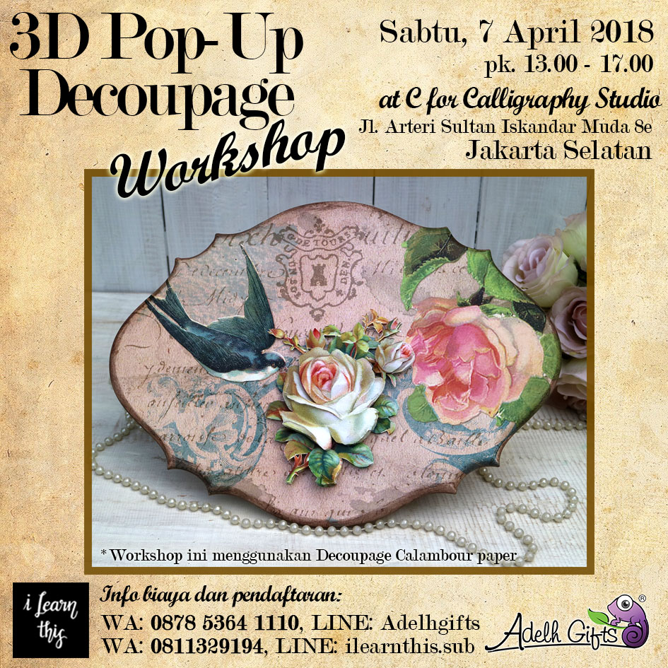 3d pop up 7 april