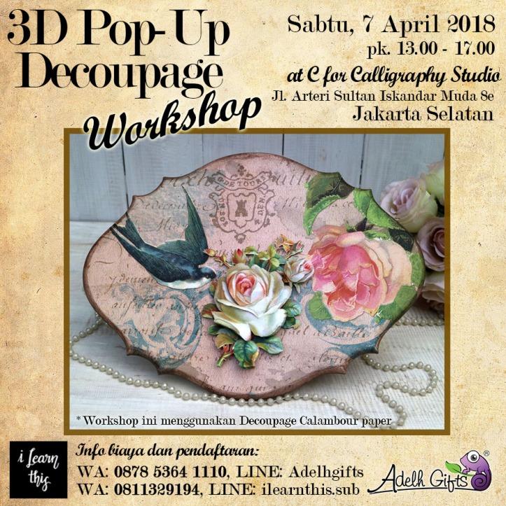 3d pop up 7 april