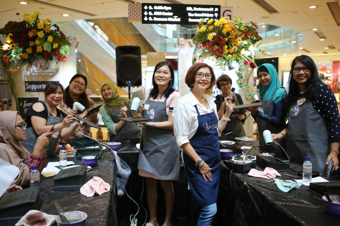masterclass decoupage workshop surabaya