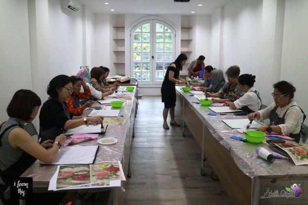 workshop decoupage adelh gifts jakarta