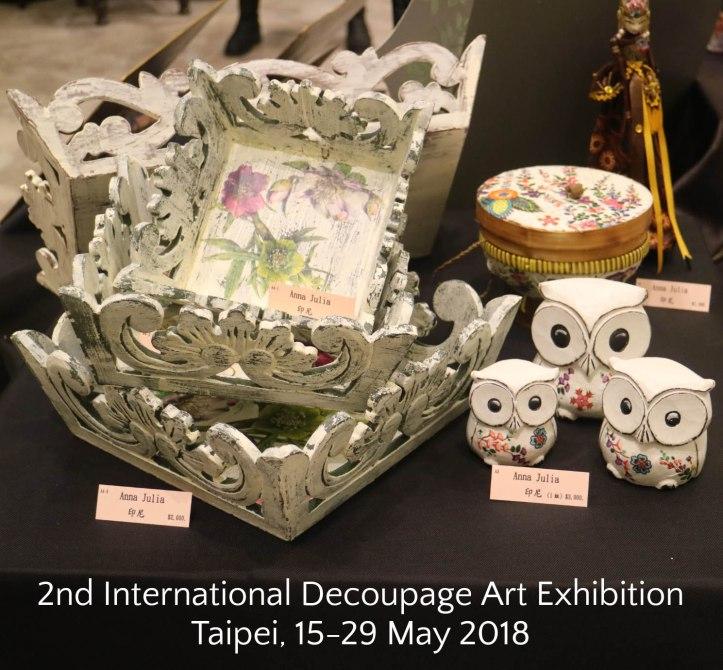 adelh gifts produk di pameran taiwan