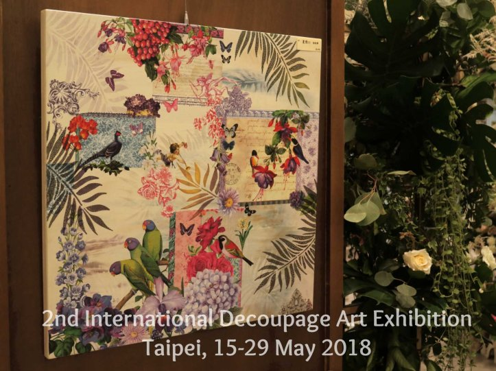 decoupage calambour exhibition