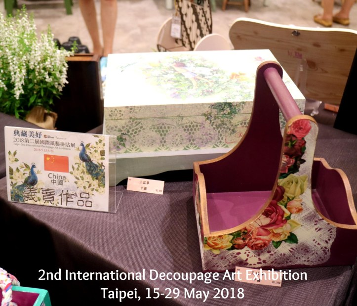 internasional art decoupage exhibition