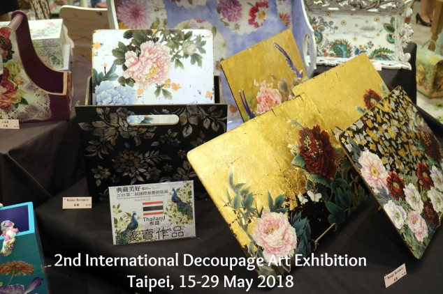 internasional decoupage art exhibition
