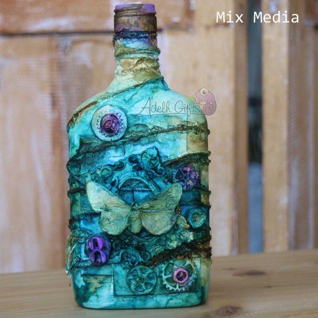 botol mix media