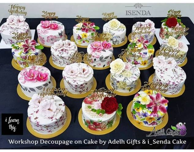 cake art decoupage