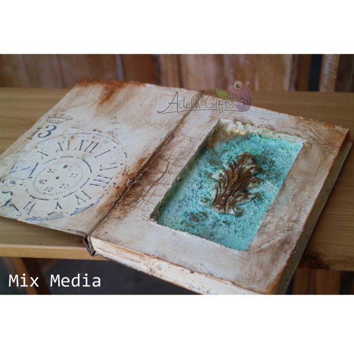 dalam buku isi mix media