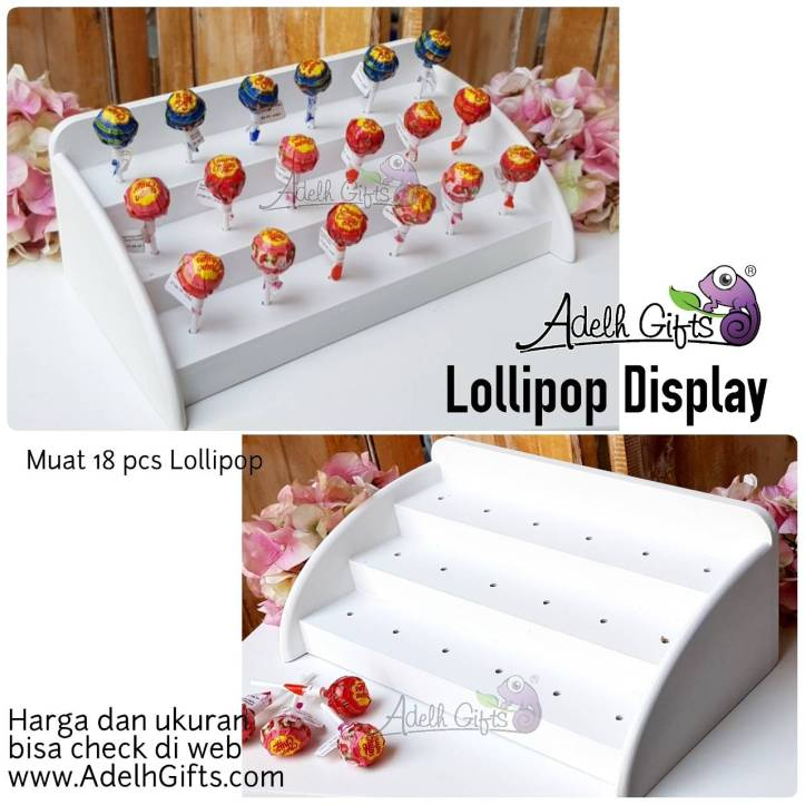 lollipop display horizontal