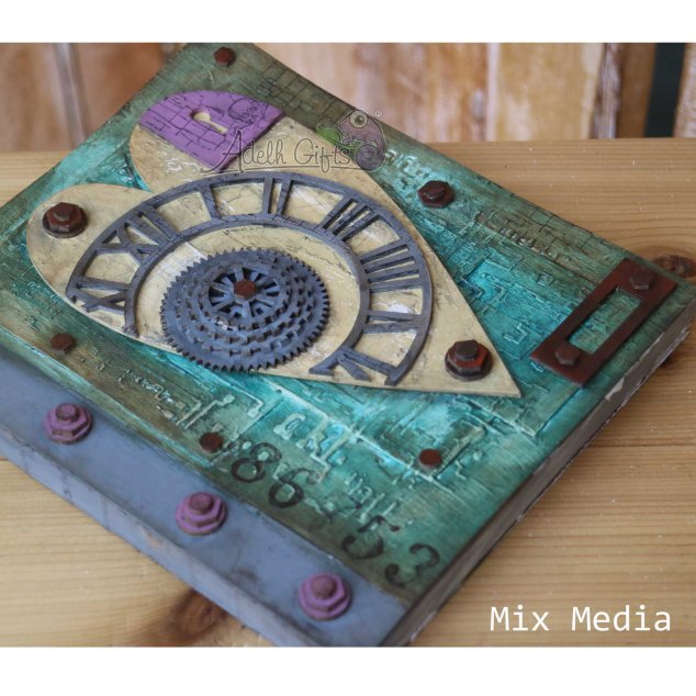 project 1 mix media