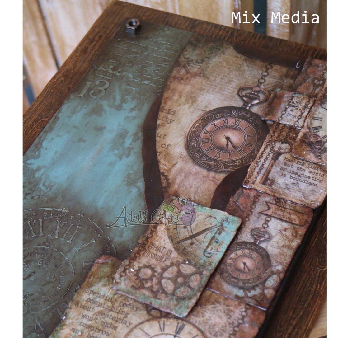 project 5 mix media