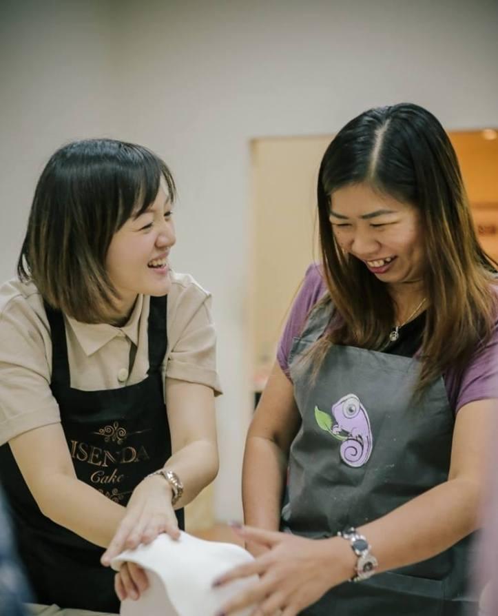 serunya workshop cake isenda